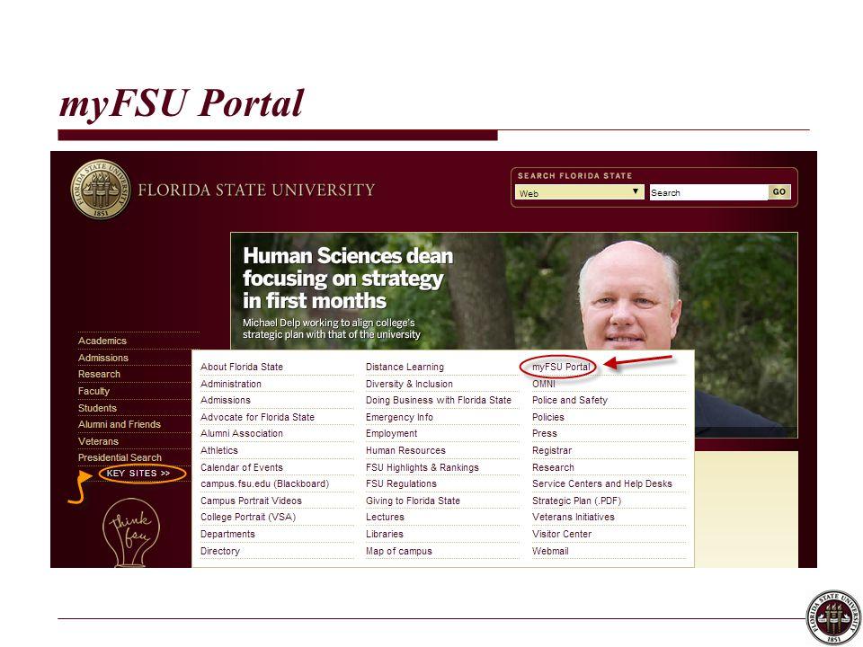 myFSU Portal