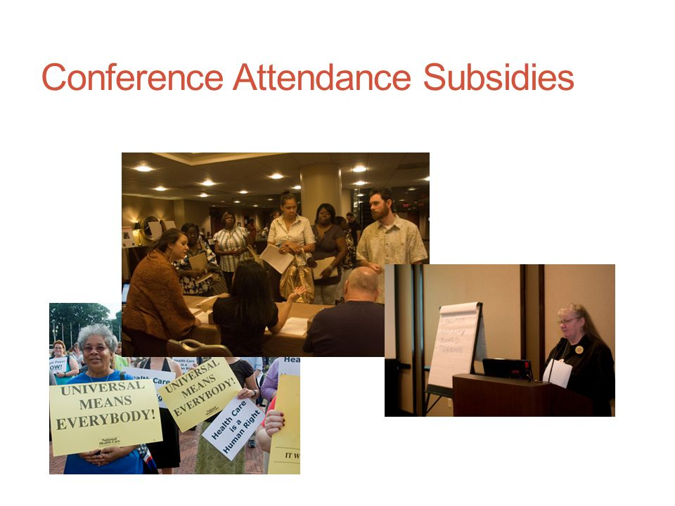 Conference Attendance Subsidies
