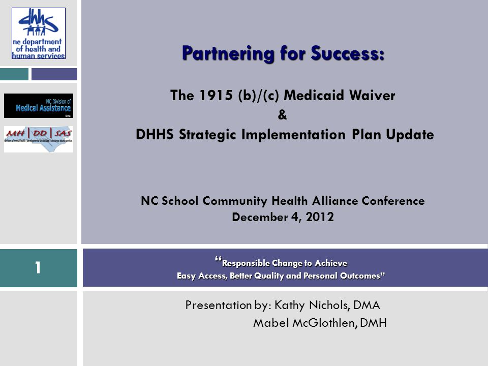 22 CCNC—NC Health Home Behavioral Health Initiatives  14 Psychiatrists in Regional Networks  Teach PCPs to address MH/SA issues in primary care  Teach PCPs to collaborate with behavioral health providers  Use brief screenings  Ex.