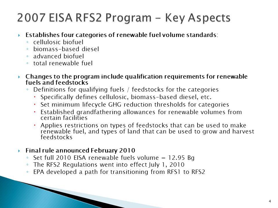 5 TotalRenewableFuel Advanced Biomass Based Diesel + Non Cellulosic Advanced Advanced Total Advanced += Cellulosic Advanced Advanced ConventionalRenewableFuels TotalAdvanced + =