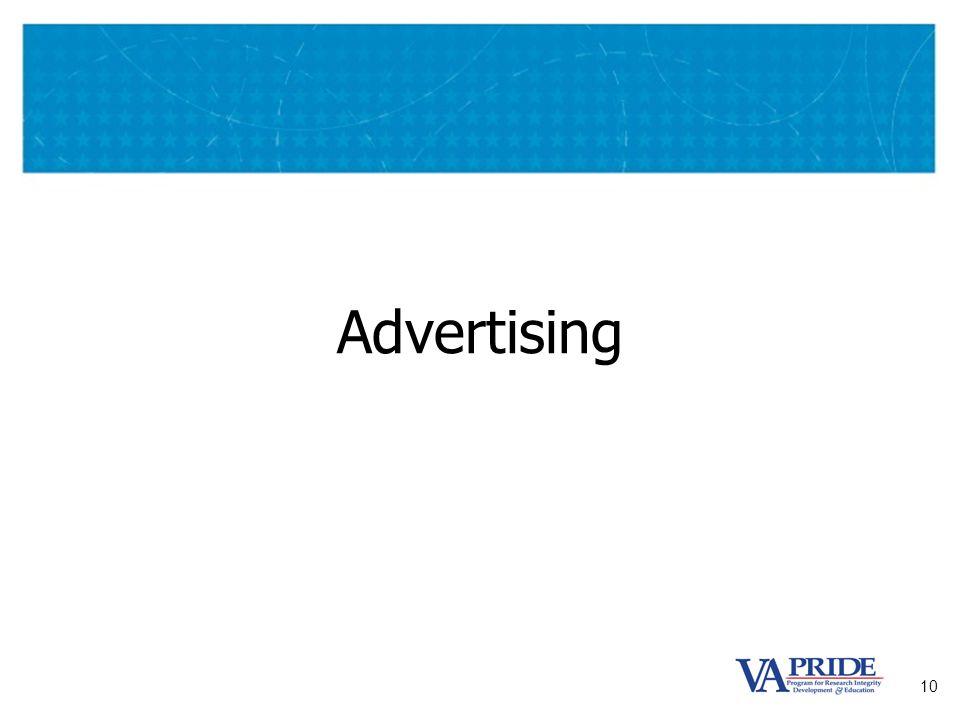 10 Advertising