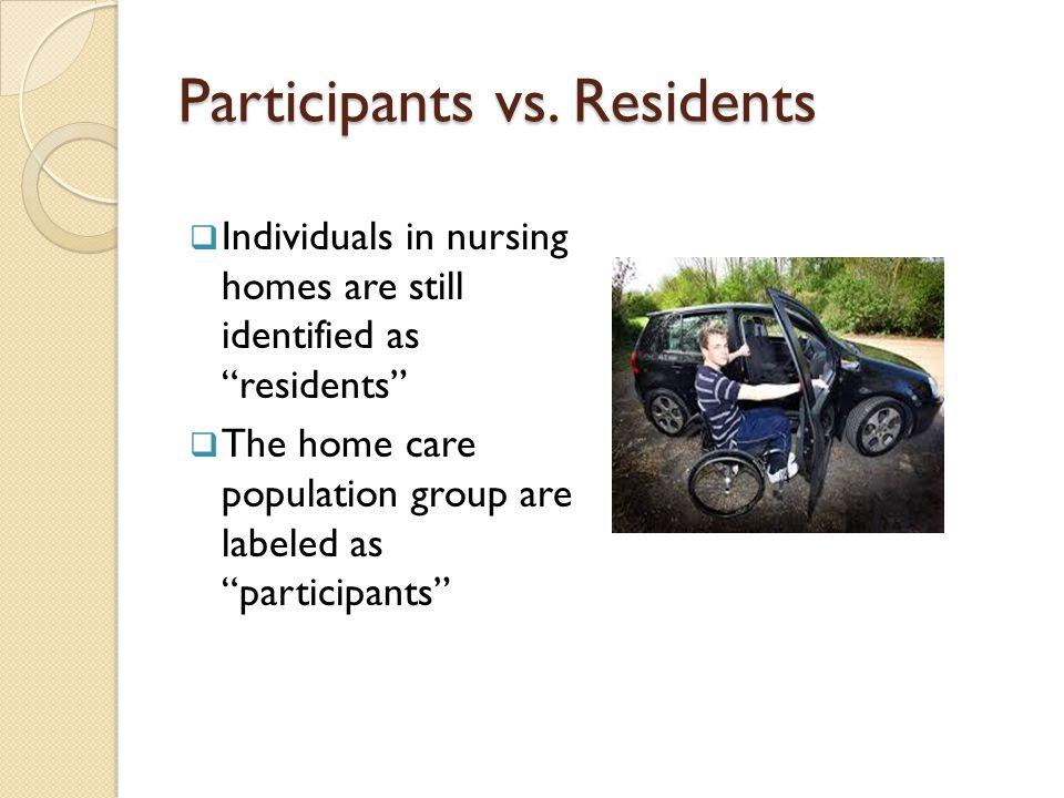 Participants vs.