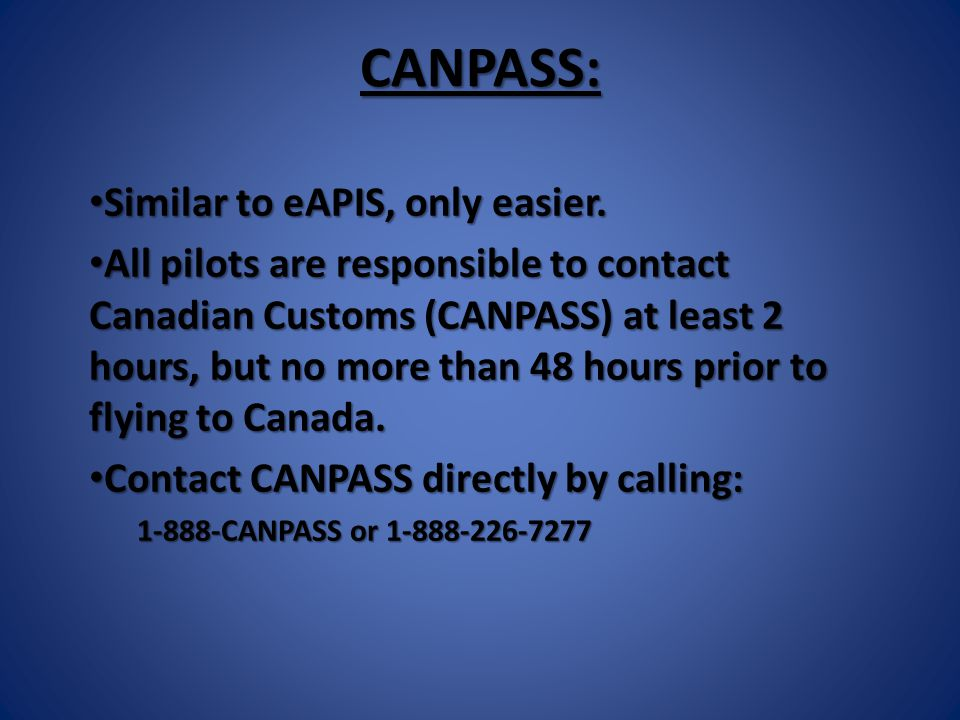 SEARCH AND RESCUE: After all… it is why you file a flight plan.
