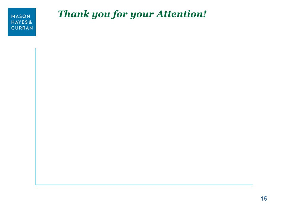 Thank you for your Attention! 15
