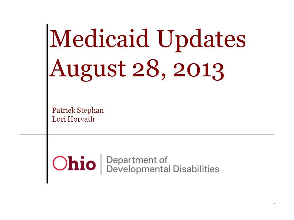 2 FY 2014 Medicaid Priority work areas