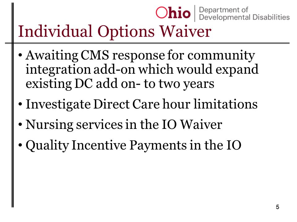 16 Level One Waiver reminder Amendment changes effective 9/1/13 Additional services Community respite Remote monitoring/equipment Home-delivered meals Cost cap increases from $6,000 - $7,500 over 3 years