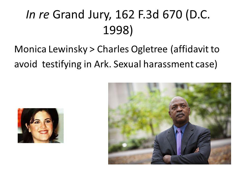 In re Grand Jury, 162 F.3d 670 (D.C.