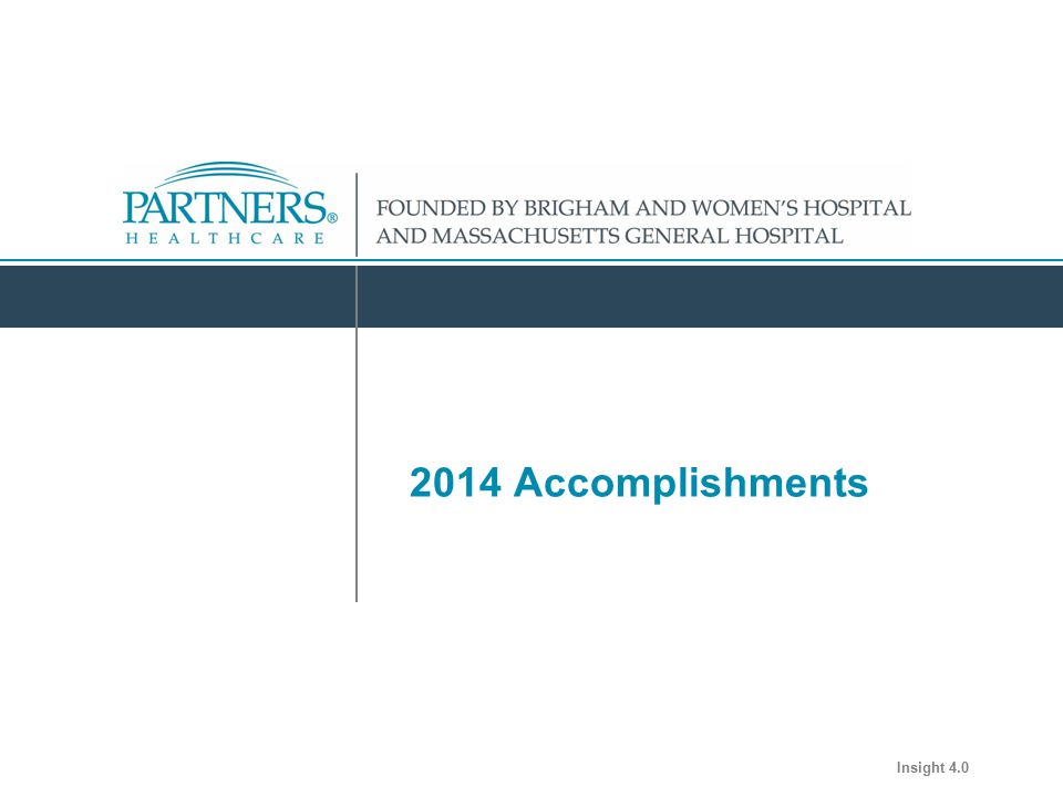 Department Name 2014 Accomplishments Insight 4.0