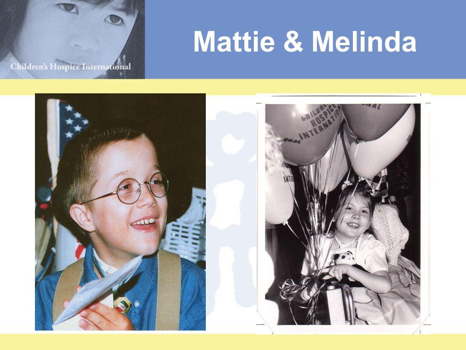 Mattie & Melinda Mattie StephanicMelinda Lawrence