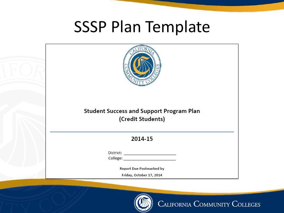 SSSP Plan Template