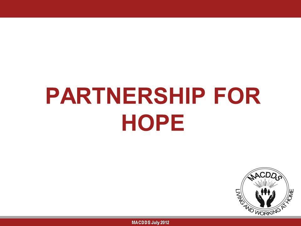 PARTNERSHIP FOR HOPE