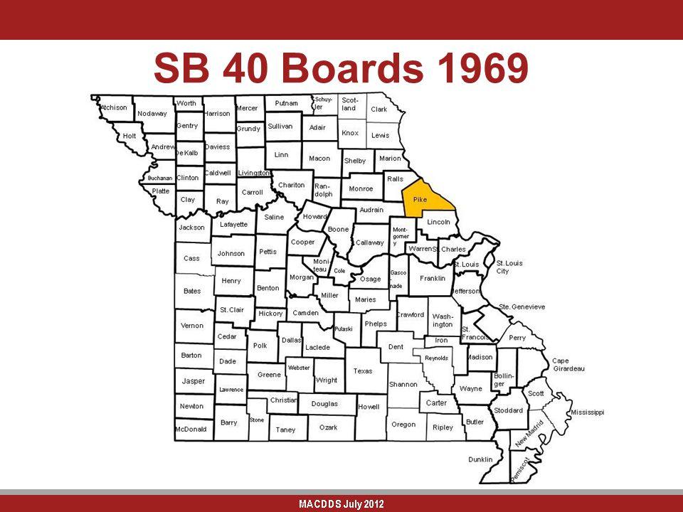 SB 40 Boards 1969