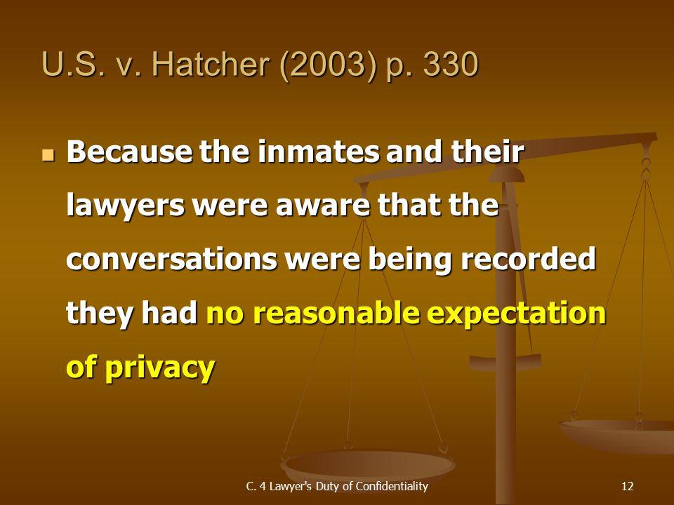 U.S. v. Hatcher (2003) p.
