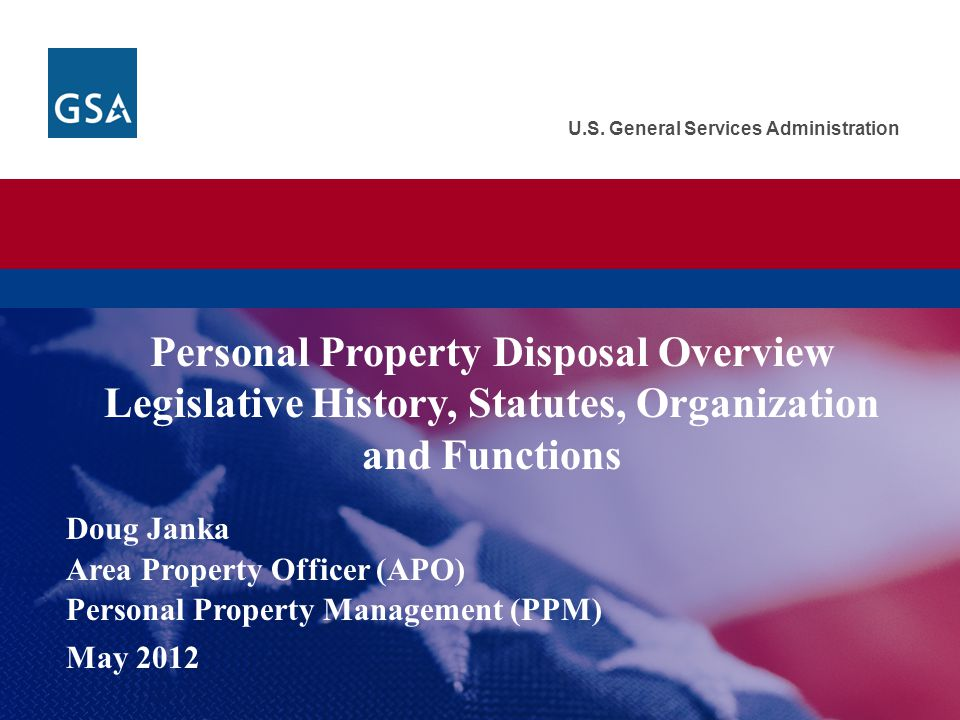  Property in GSAXcess® is available for screening by and transfer to: Federal agencies, their contractors, cooperatives and grantees Senate and House of Representatives DC Government Mixed-ownership Government corporations  Agency property personnel must have access to GSAXcess® to request property Contact your agency NUO or GSA, APO Step 3: Excess: Screening & Federal Transfers