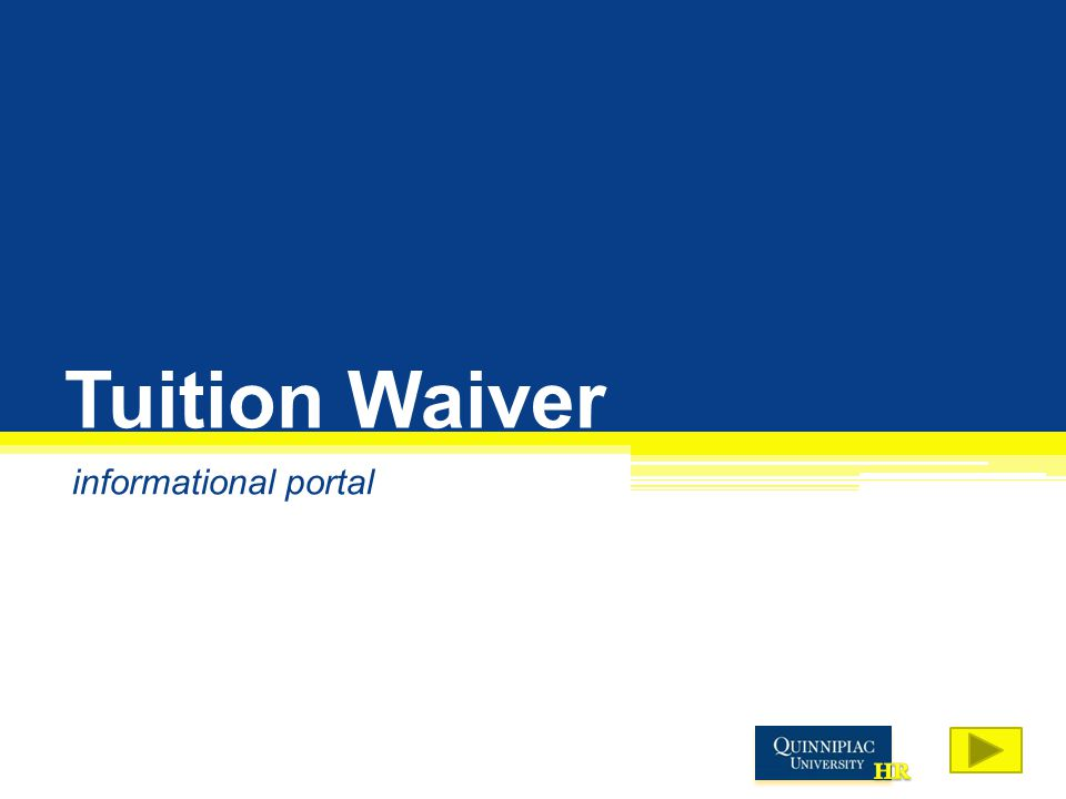 Tuition Waiver informational portal