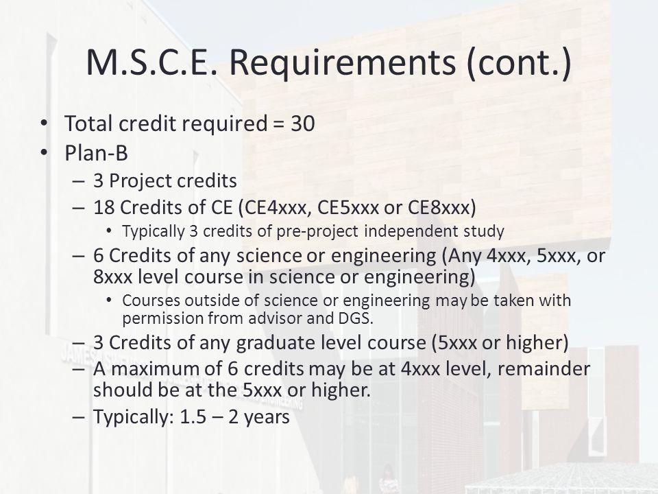 M.S.C.E.