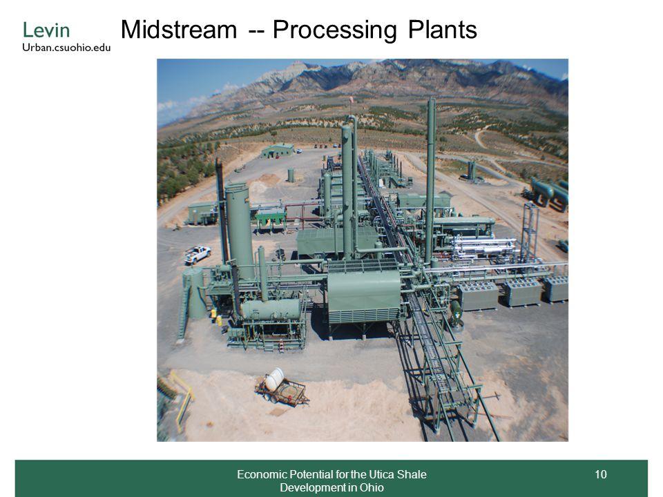 Midstream -- Processing Plants Economic Potential for the Utica Shale Development in Ohio 10