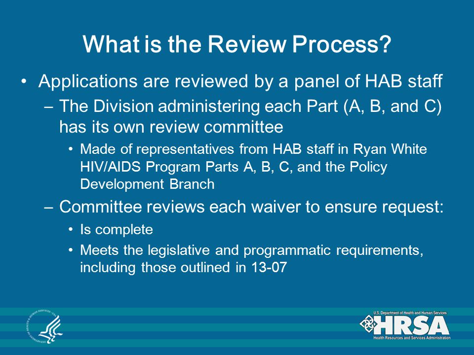 What is the Review Process.