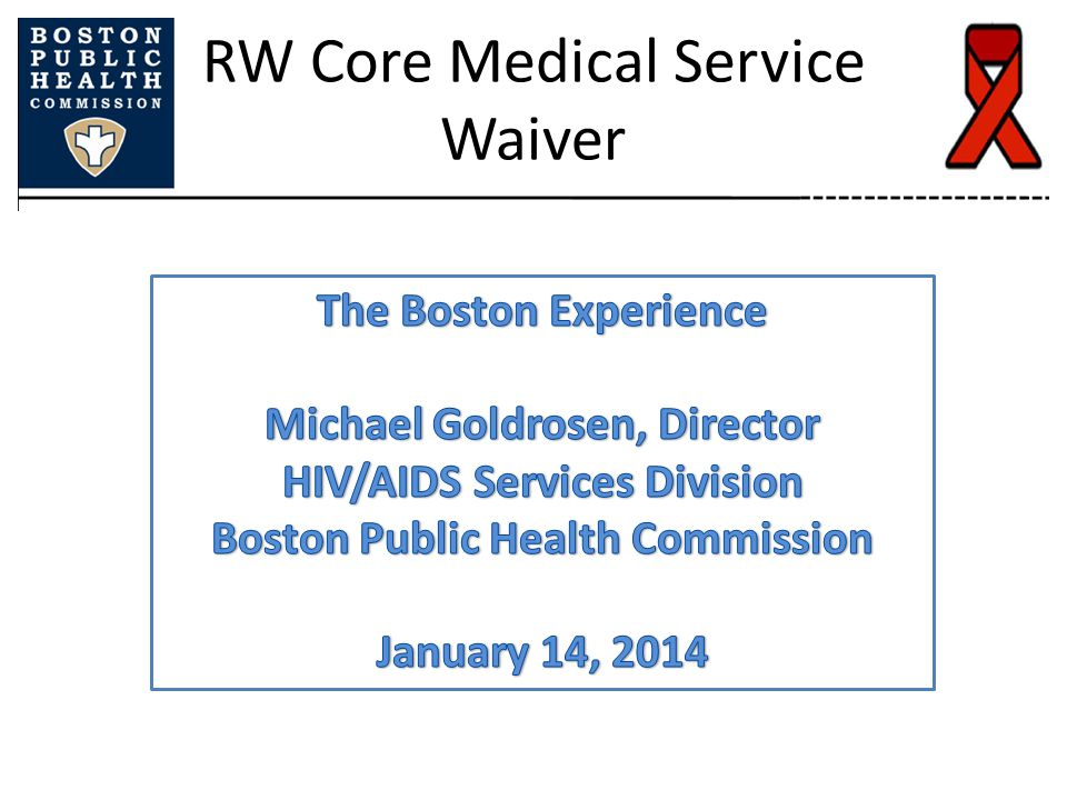 RW Core Medical Service Waiver