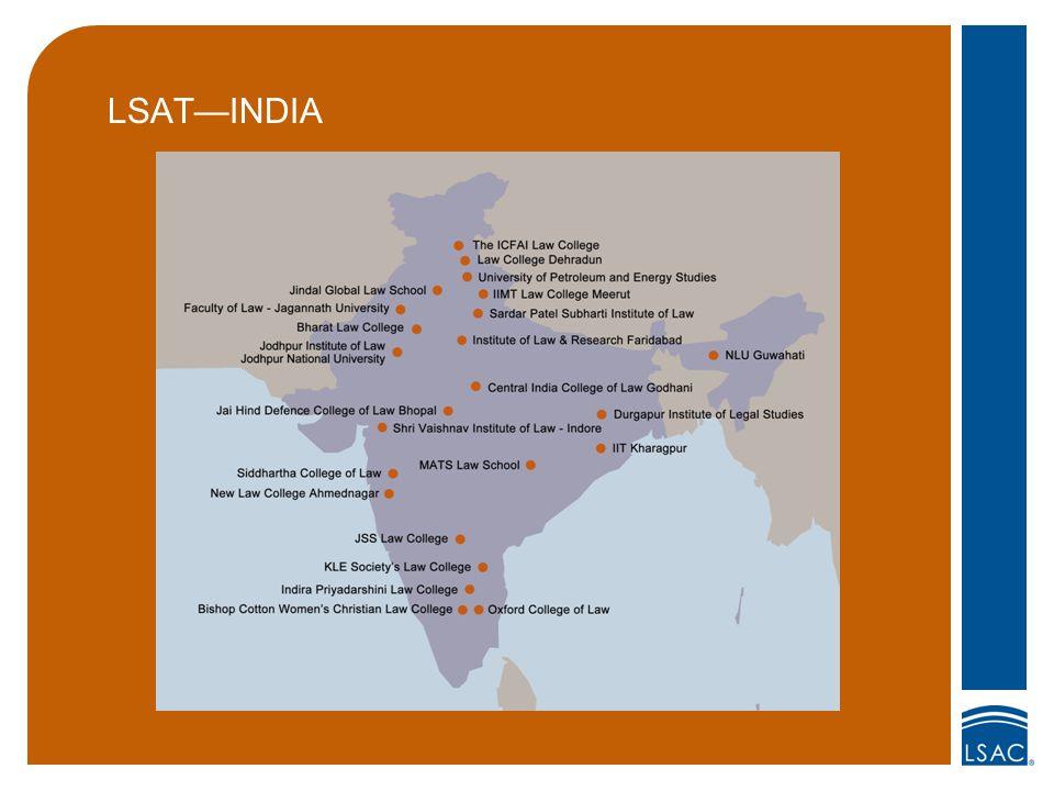 LSAT—INDIA