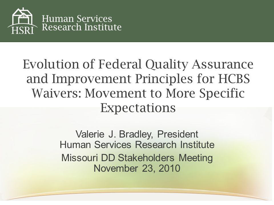 Requirements for More Focused Evidence Reports Should be continually reaching 100% compliance Should be able to aggregate remediation so that you can determine how quickly issues are resolved Should be able to describe methods of remediation Should be able to describe relevant quality improvement initiatives (training, policy change, etc.) Can use consumer surveys – but not as the sole source of evidence