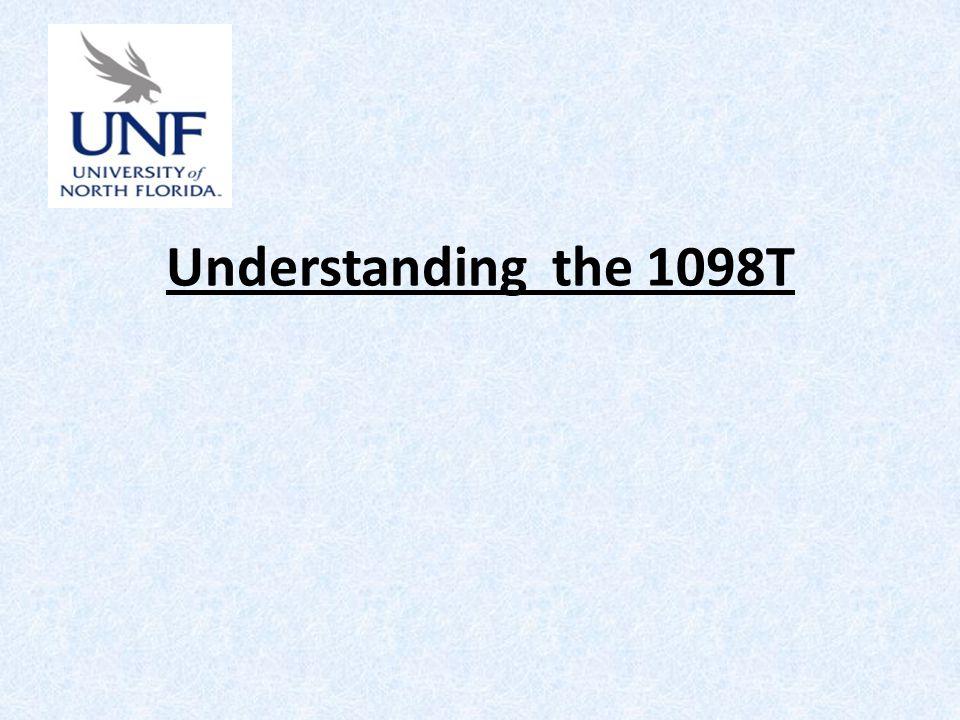 Understanding the 1098T
