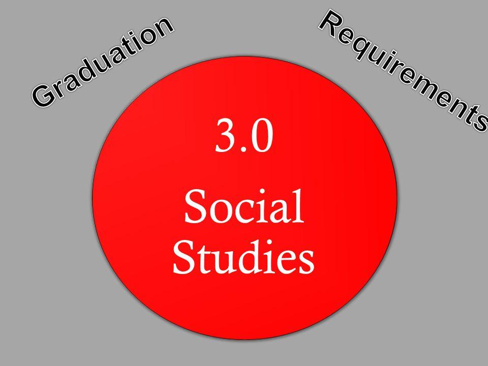 3.0 Social Studies