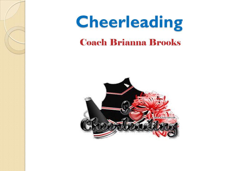Cheerleading Coach Brianna Brooks