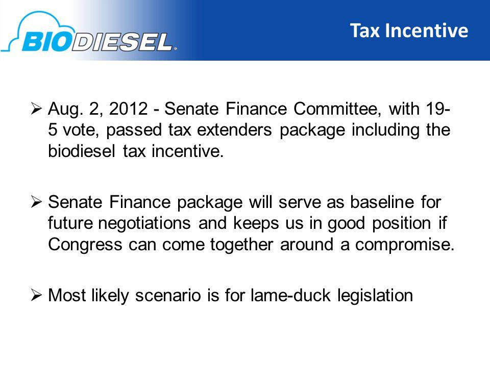 Tax Incentive 12  Aug.