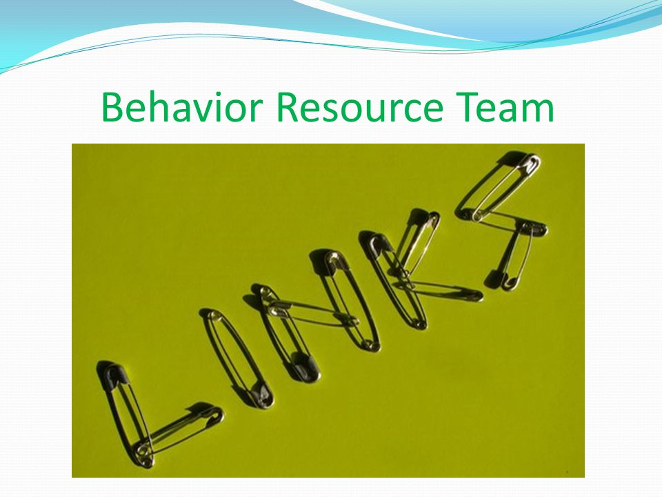 Behavior Resource Team