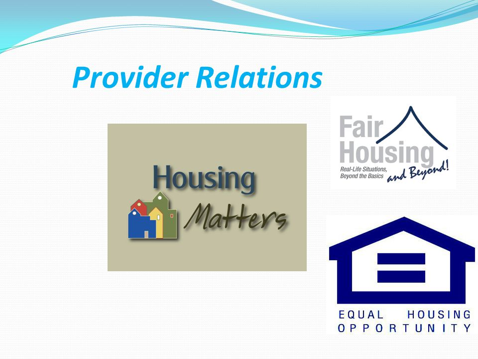 Provider Relations