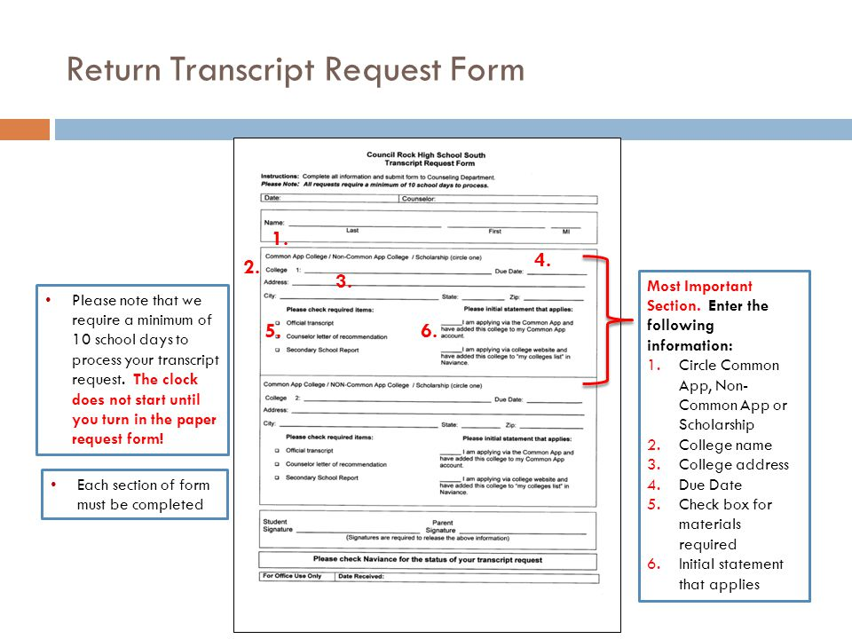 Requesting Transcripts Student Training Presentation  Ppt Download