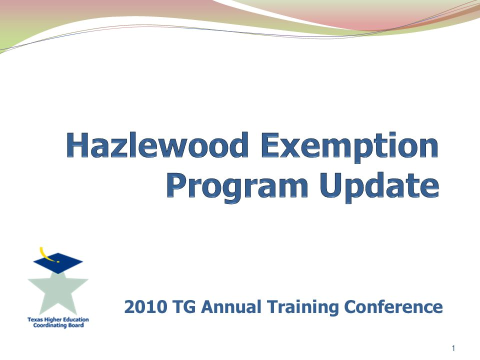 2010 TG Annual Training Conference 1