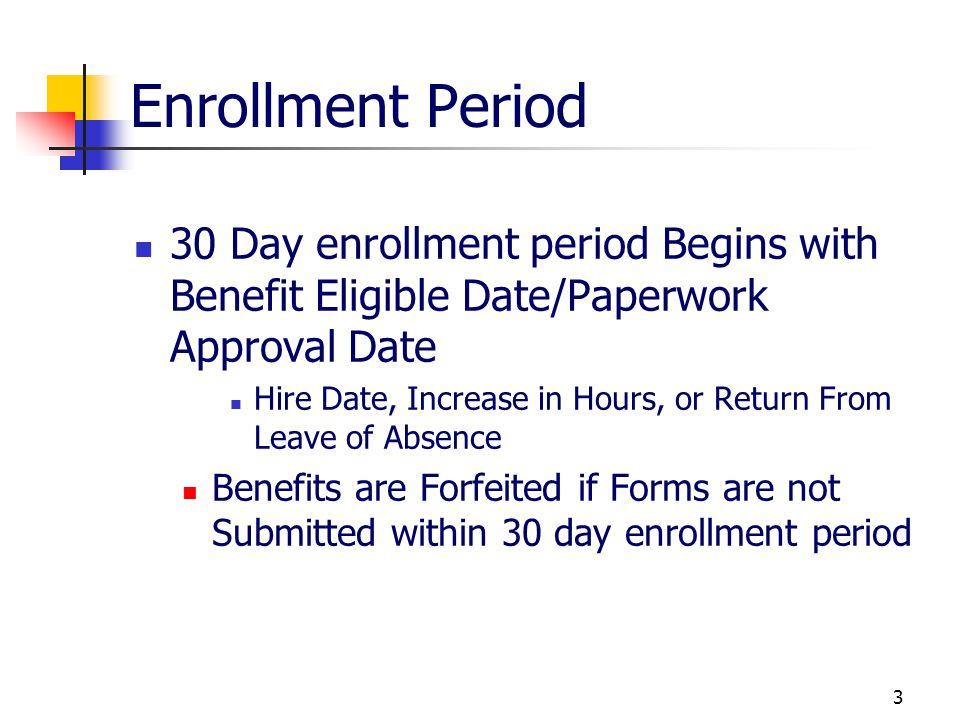 23 Enrollment Changes Cont.