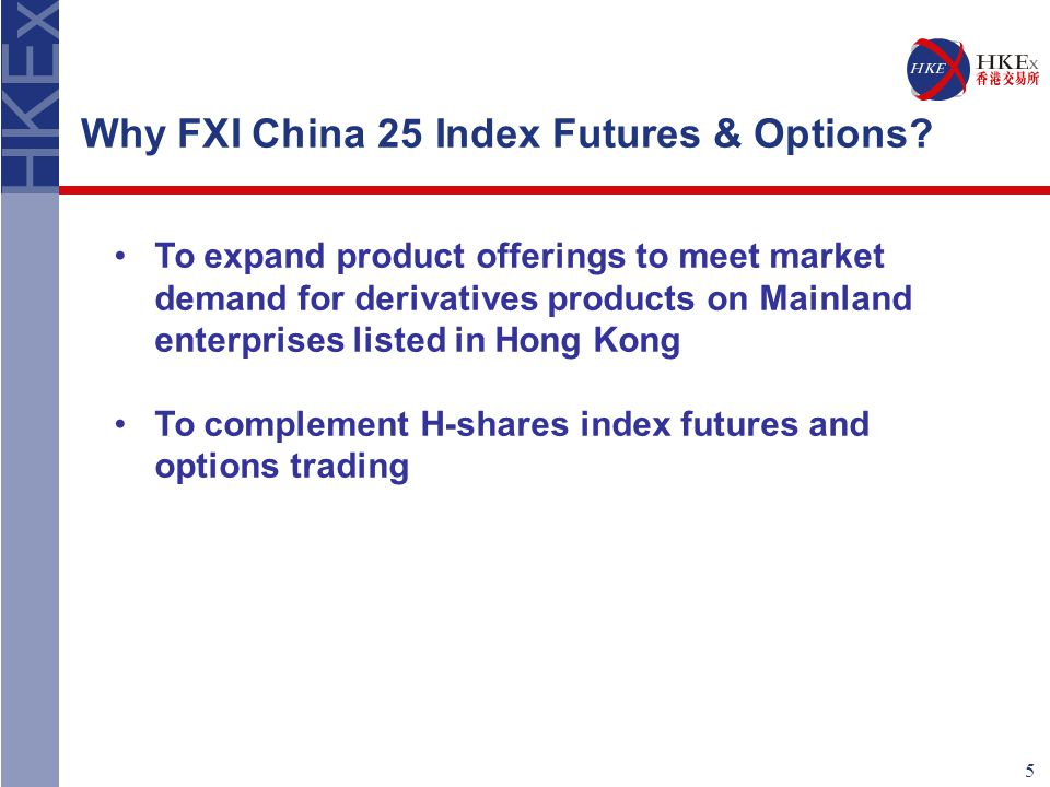 6 Why FXI China 25 is chosen for trading.
