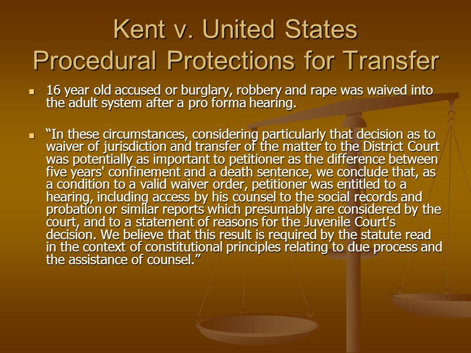 Kent v.