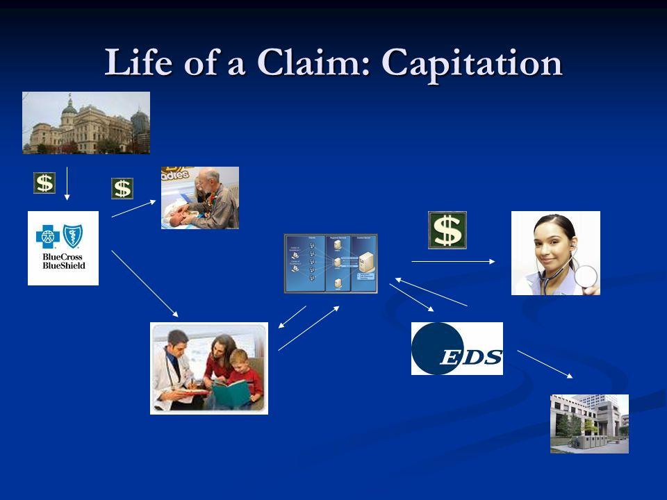 Life of a Claim: Capitation