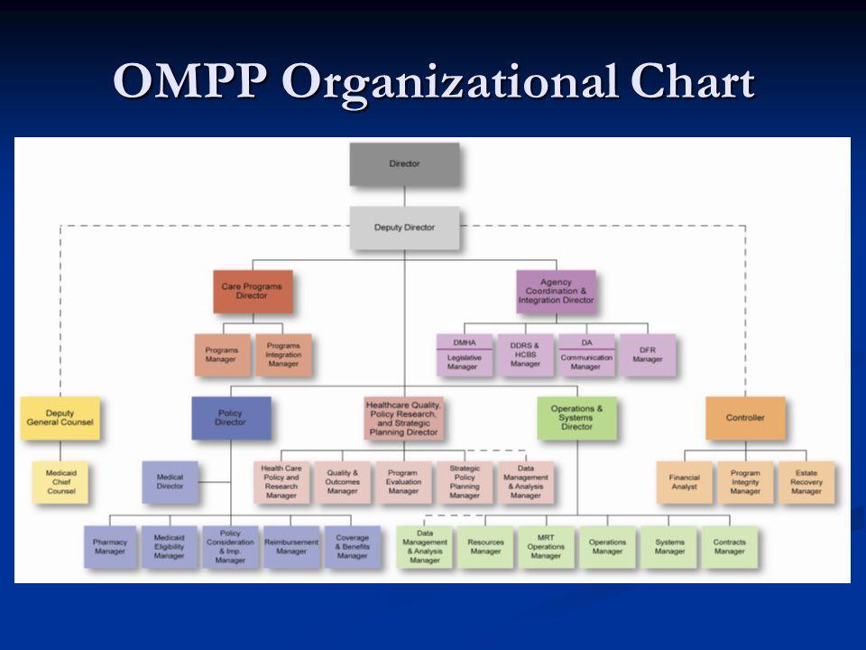 OMPP Organizational Chart