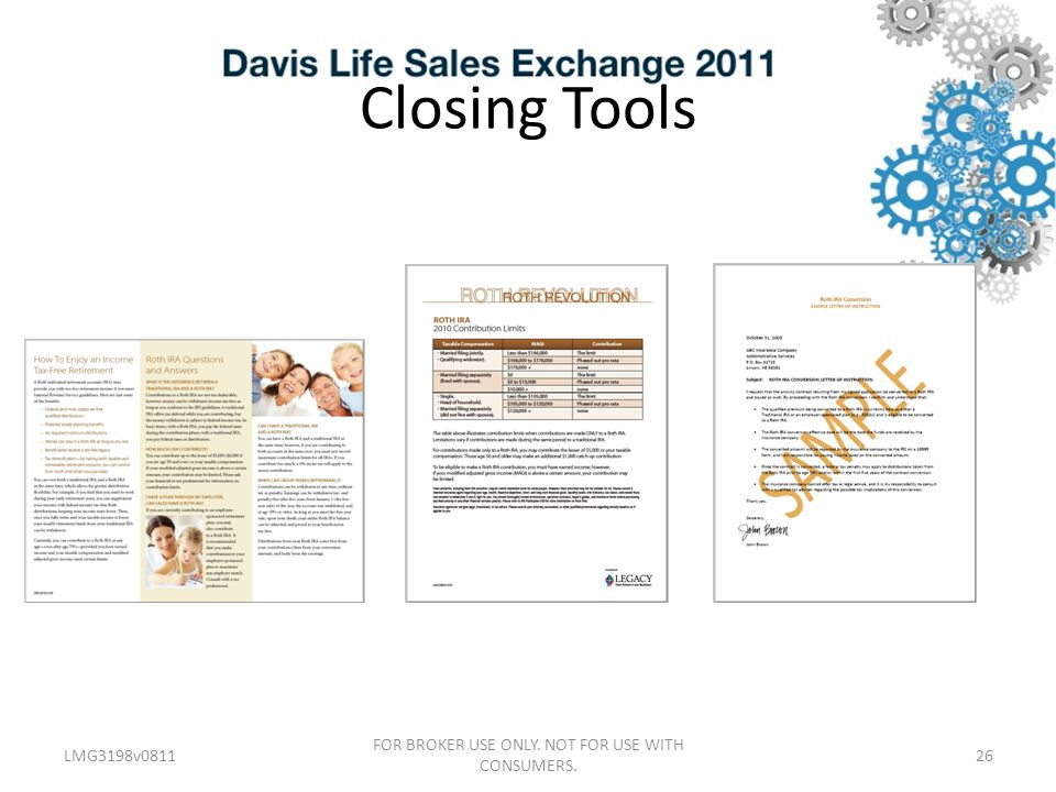 Closing Tools LMG3198v081126 FOR BROKER USE ONLY. NOT FOR USE WITH CONSUMERS.