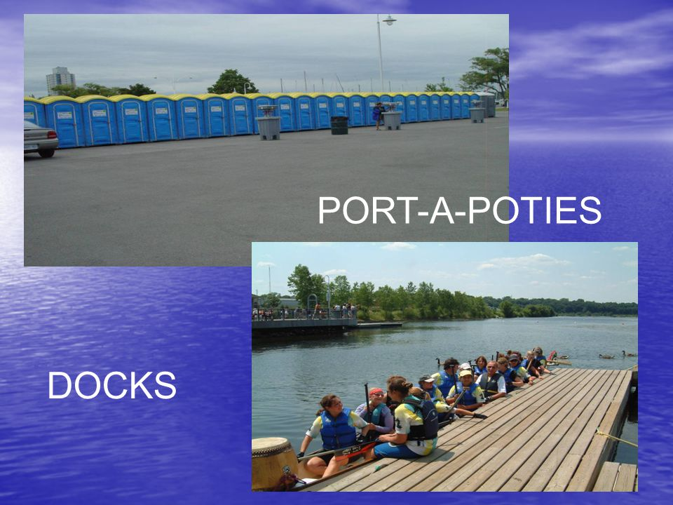 PORT-A-POTIES DOCKS