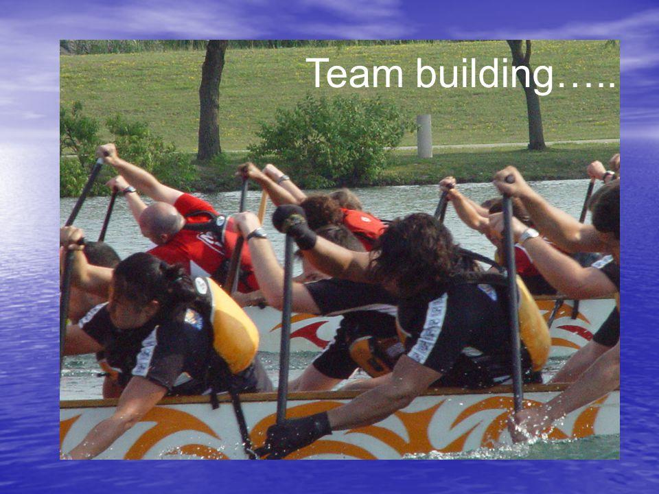 Team building…..