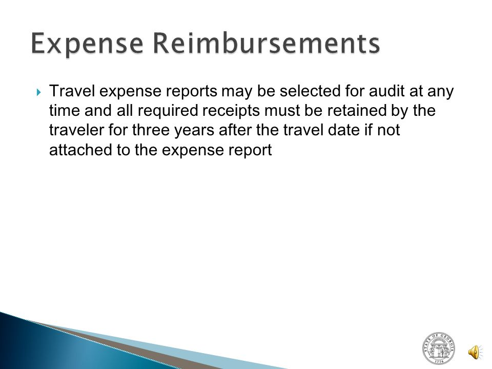  Employees should submit expense reports within 45 calendar days of completion of travel  Employees must return any Travel Advance amount in excess of allowable substantiated expenses with the related Expense Report submission within the same 45 calendar days of completion of the trip  Non-GTE System users reporting expenses on the Manual Expense Report Form must use the updated Manual Expense Report Form which will be available on the SAO Website as of 6/1/12