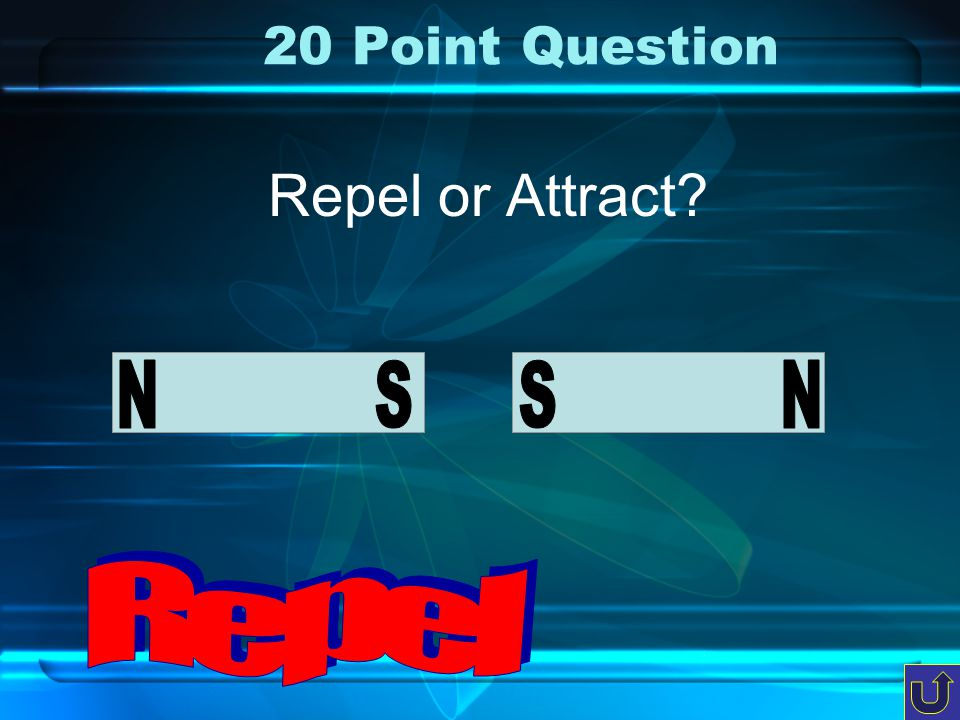 c-3 10 Point Question Repel or Attract?