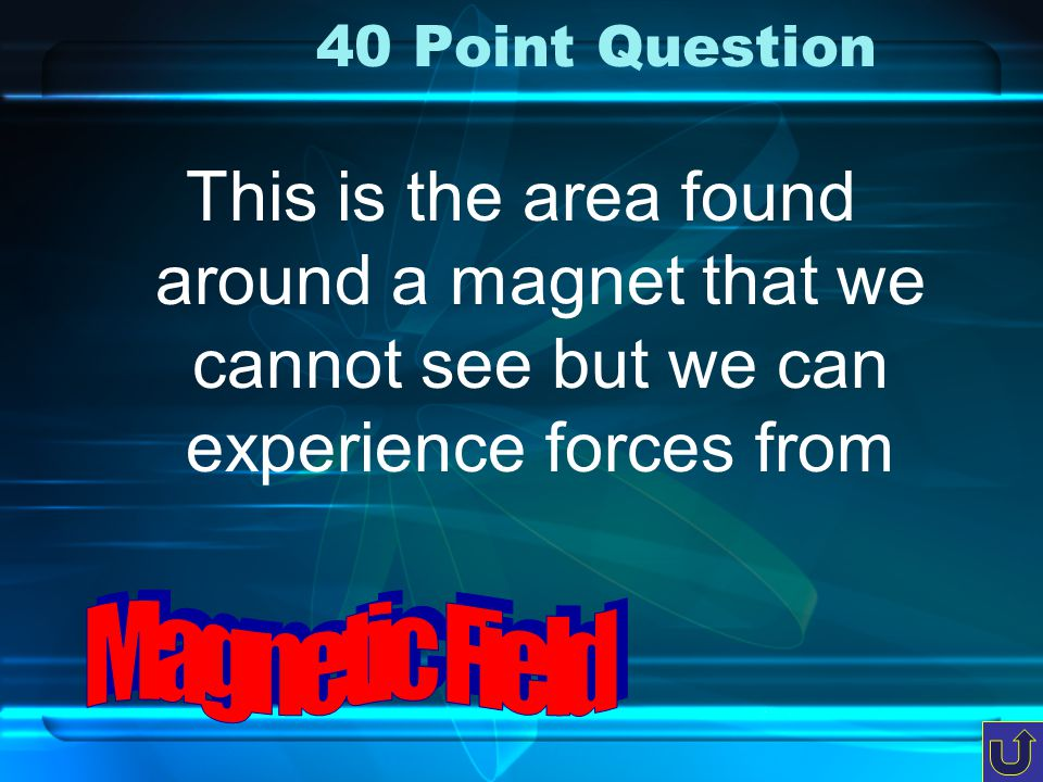 30 Point Question all three A magnet can attract one of three types of metal, name all three