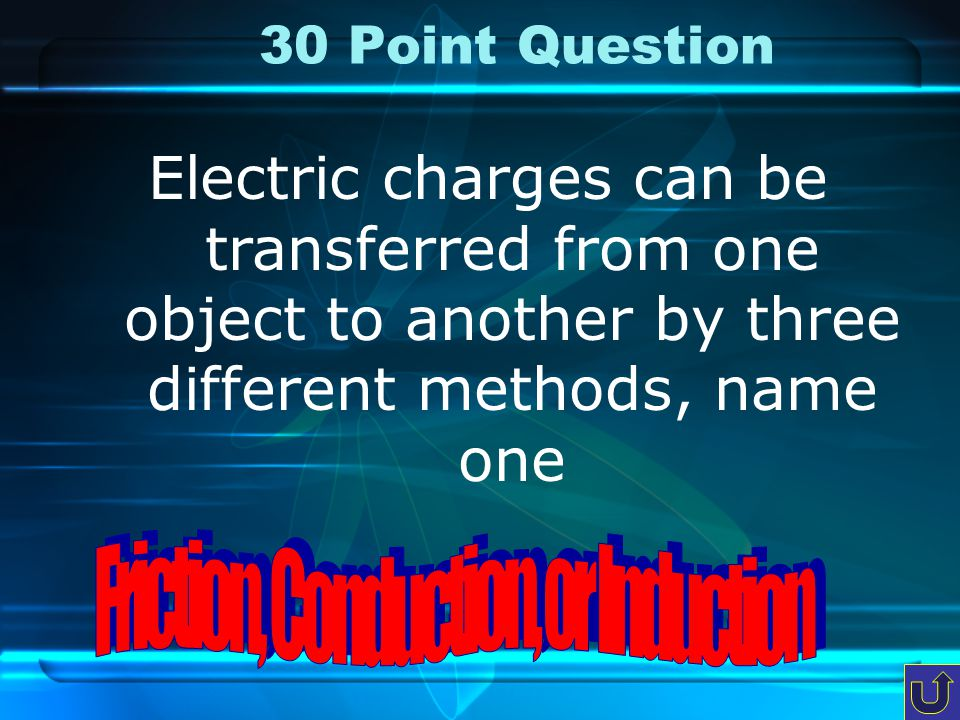 20 Point Question This is the part of the atom that has a positive charge and it is found in the nucleus