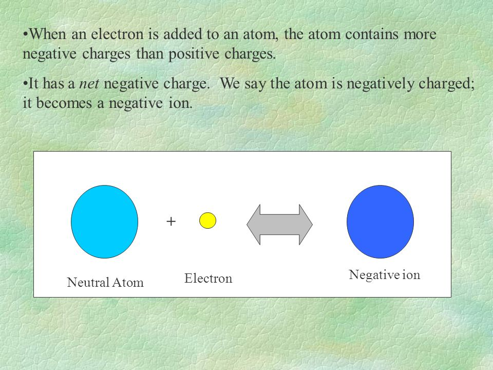Electrons can be transferred from one atom to another.