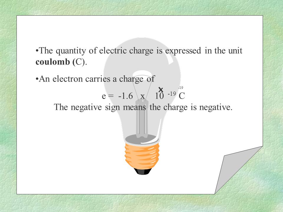 When an electron is added to an atom, the atom contains more negative charges than positive charges.