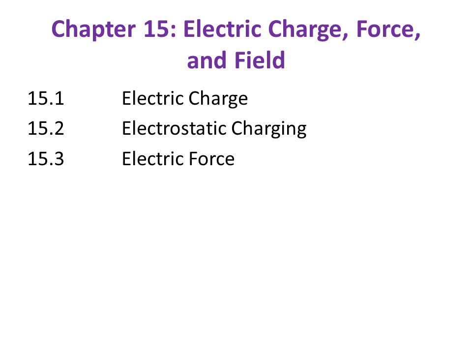 Check for Understanding: 3.An electron is a certain distance from a proton.