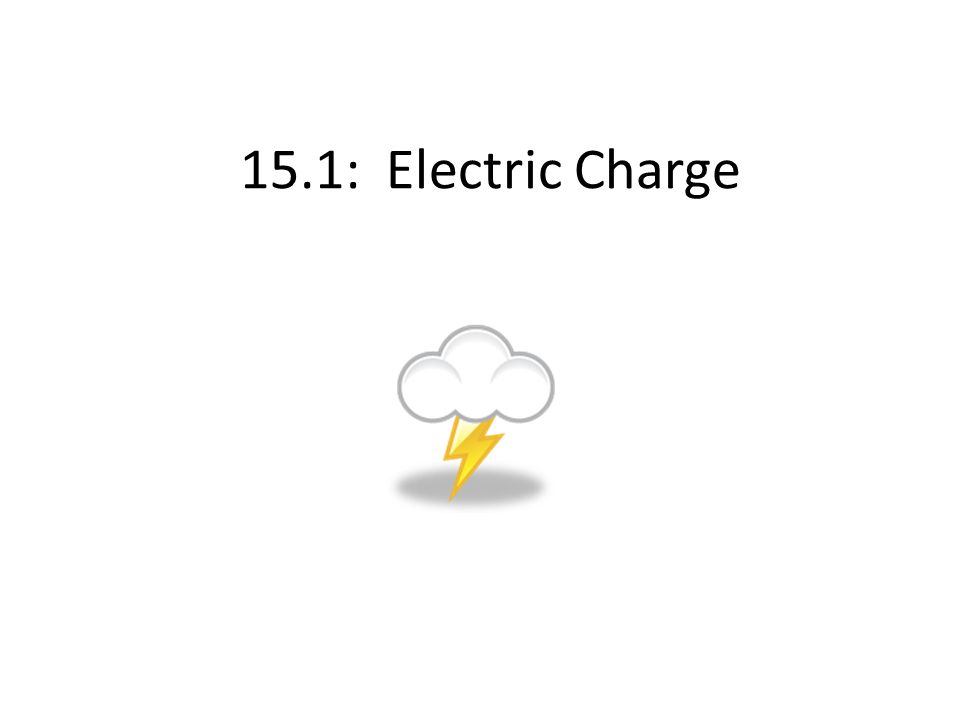 15.1: Electric Charge