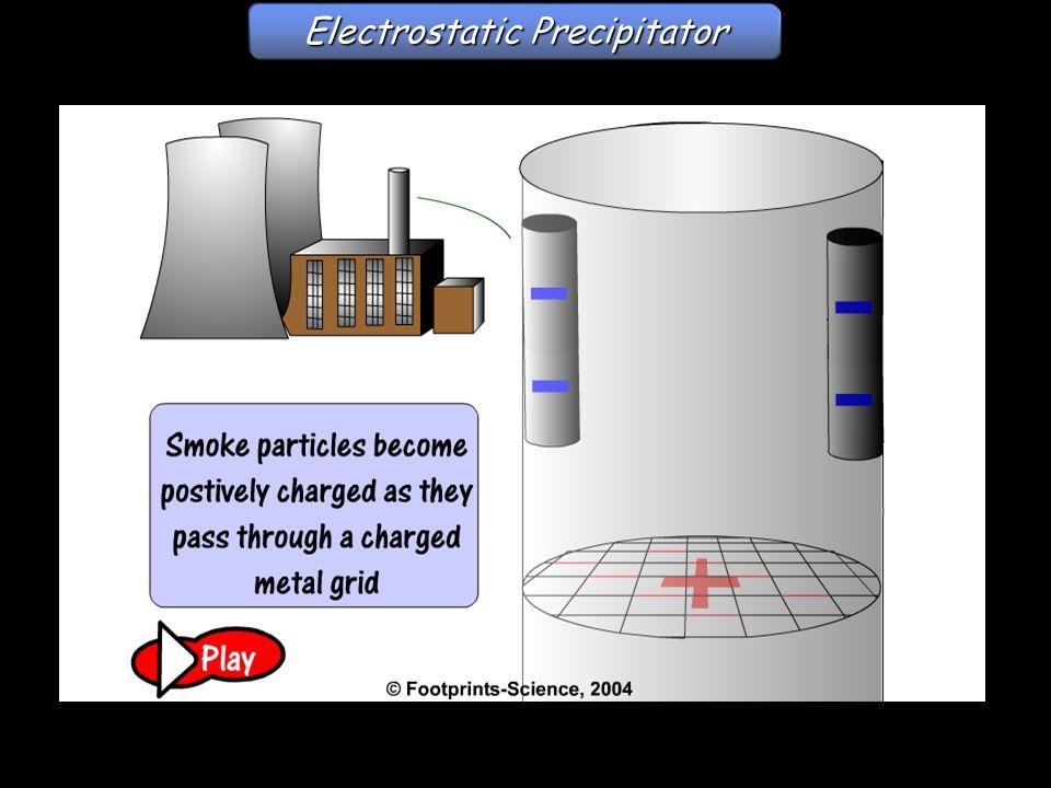 Electrostatic Precipitator Electrostatic precipitator
